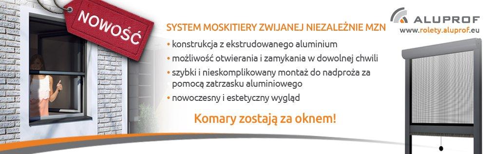 Moskitiery Aluprof