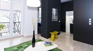 Malowanie ścian: kolory ścian w salonie (ZDJĘCIA)