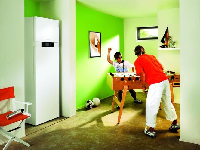 Pompa ciepła w pokoju hobby