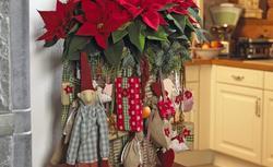 Gwiazda betlejemska w nowoczesnych ozdobach na Boże Narodzenie. Zobacz piękne dekoracje świąteczne