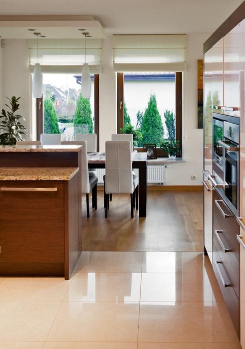 Galeria zdjęć  Nowoczesna jadalnia między kuchnią a   -> Kuchnia Jadalnia Nowoczesna