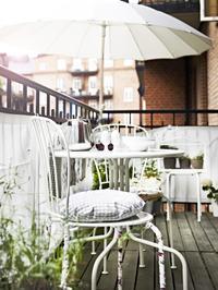 Meble na balkonie