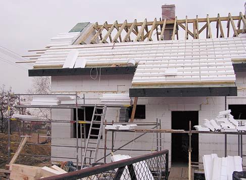 Dachowe kształtki styropianowe