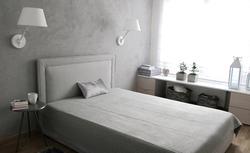 Pomysł na aranżację sypialni. Nowoczesne, romantyczne wnętrze w kolorach bieli i szarości [ZDJĘCIA]