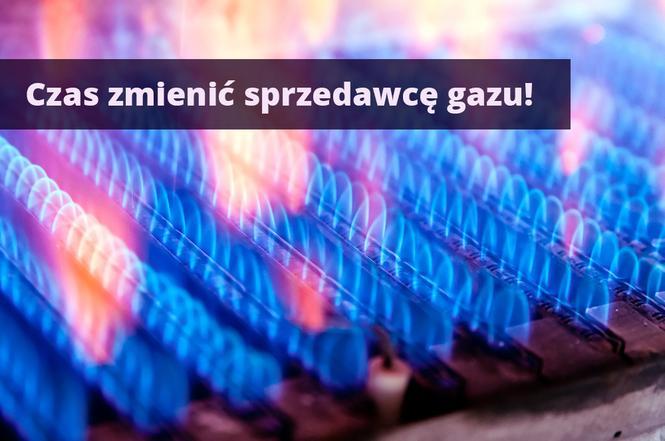 Zmiana dostawcy gazu