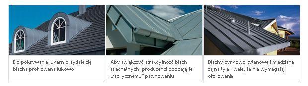 Dach z blachy