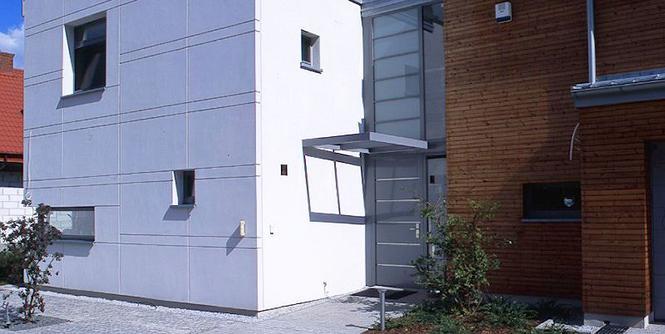 Drzwi zewnętrzne do domu energooszczędnego