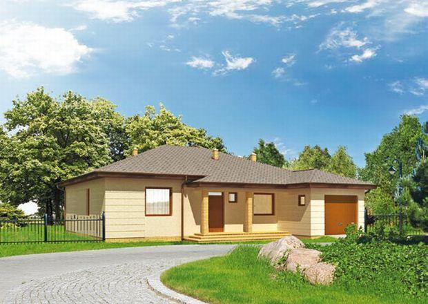 Projekty domów z dachem czterospadowym