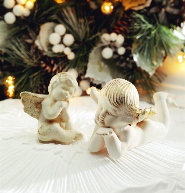 Ozdoby w kształcie aniołków