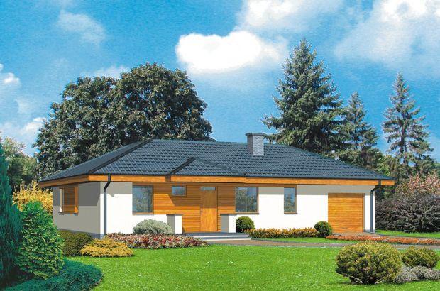 Dom idealnie połączony z ogrodem, czyli projekty domów parterowych typu bungalow