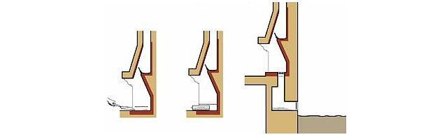 Ognisko w salonie - rysunek 2